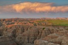 Wall, South Dakota. Badlands NP