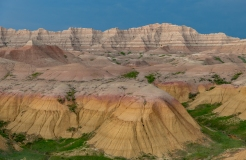 Wall, South Dakota. Badlands NP